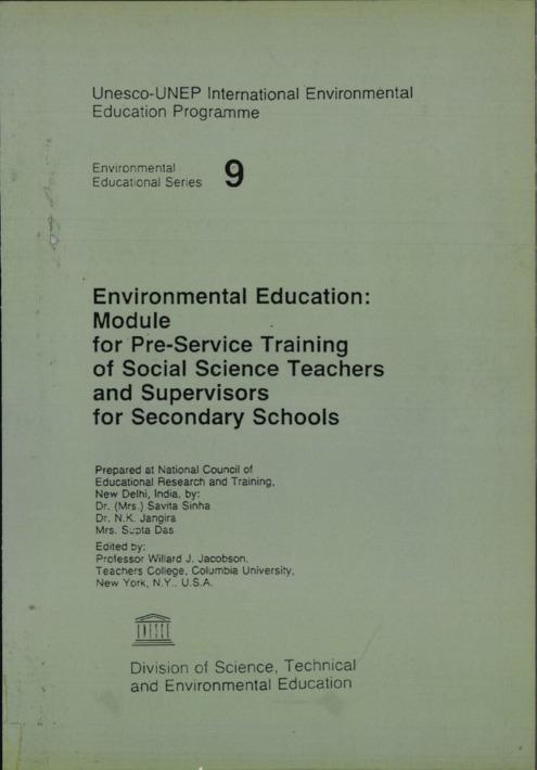 Unesco-UNEP International Environmental Education Programme