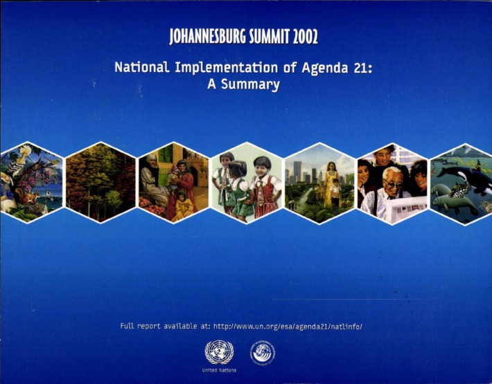 National Implementation of Agenda 21 A Summary