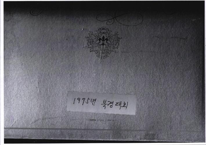 [1995년 북경대회 사진모음]