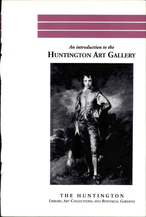 An introduction to the Huntington Art Gallery