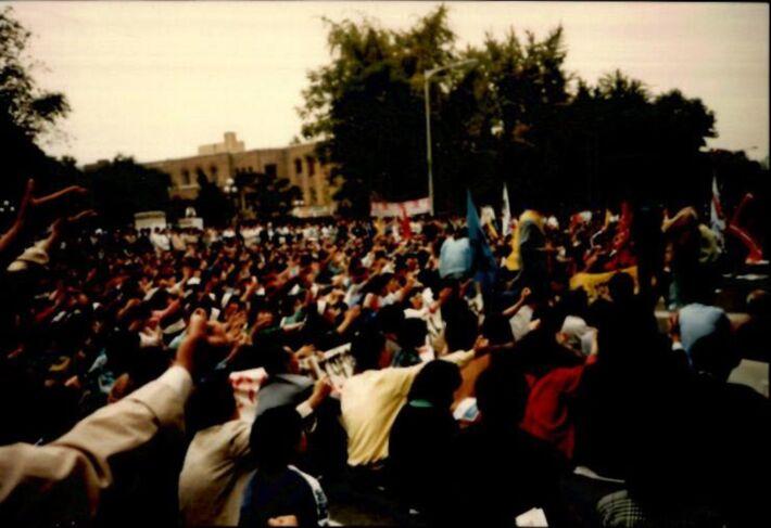 양심수 석방 집회 사진