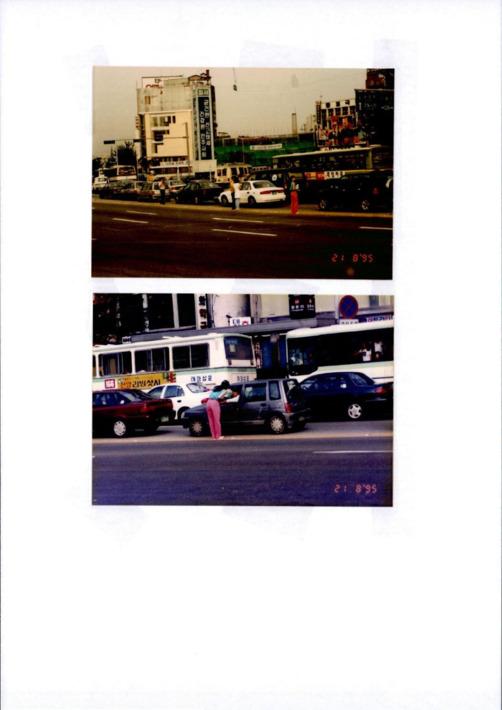 생활도로 교통안전 홍보물 배포