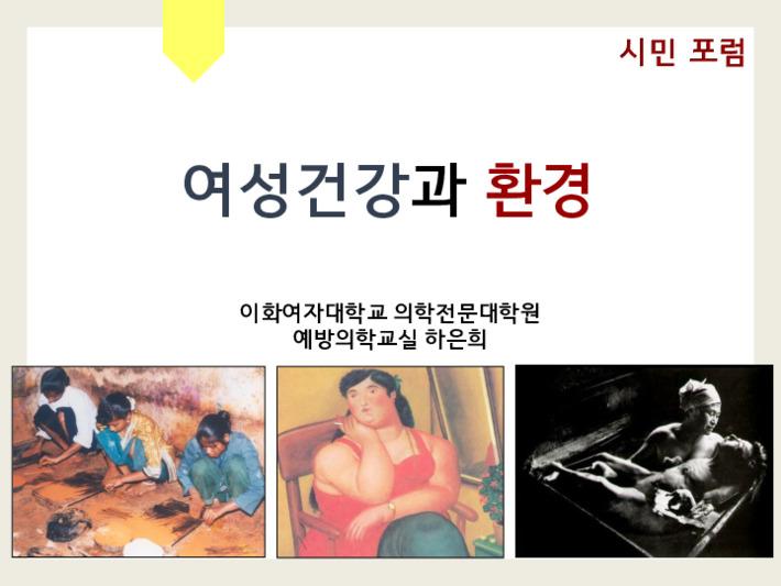 2013 서울시민 환경건강을 위한 토론회 발제자료