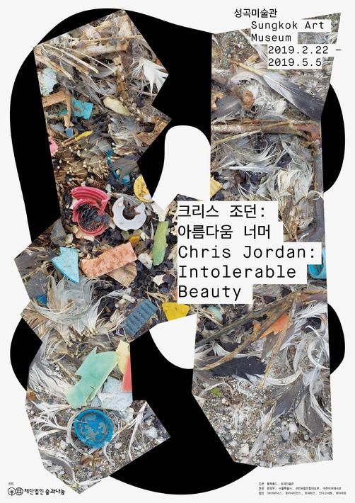 [공식 포스터] 크리스 조던: 아름다움 너머 서울전 #2