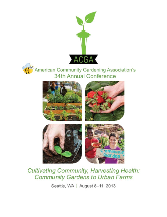 American Community Gardening Association's 34th Annual Conference