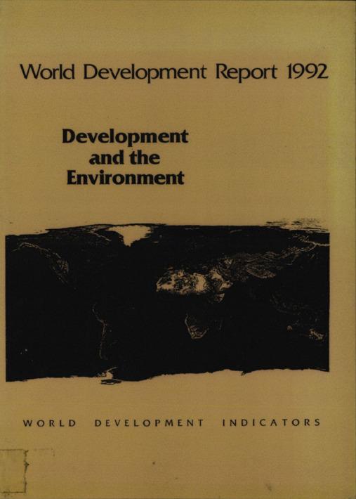 World Development Report 1992