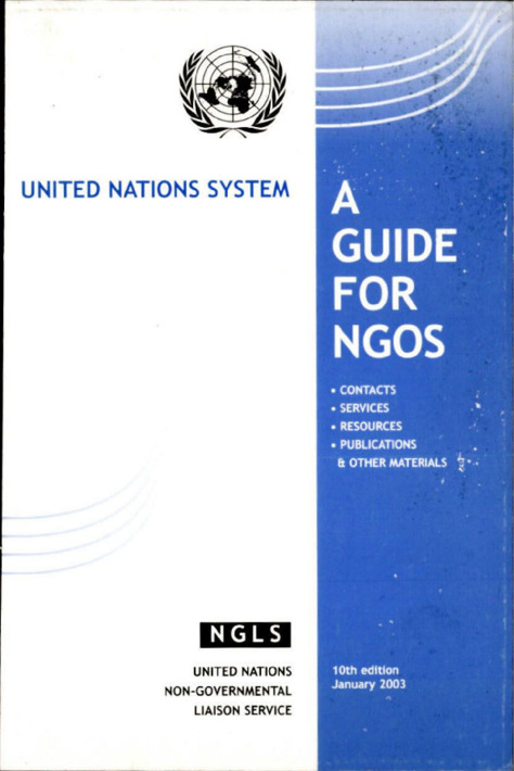 A GUIDE FOR NGOS