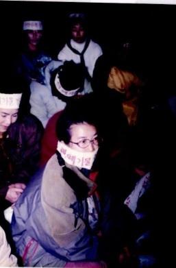 굴업도 핵폐기장 반대시위 사진 모음