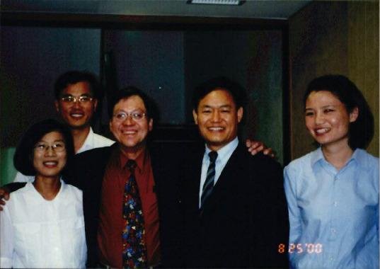 2000.8.25 미래세대의 환경권 실현을 위한 토론회, 필리핀 미래세대 환경 소송 안토니오 오포스의 변호사 내한 기자회견 11