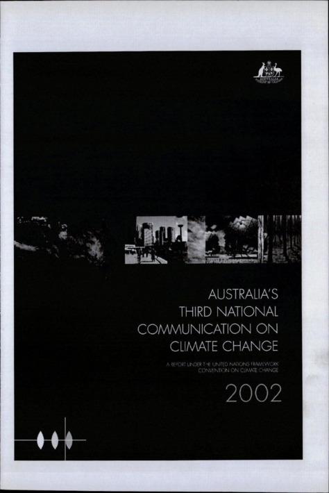 AUSTRALIA'S THIRD NATIONAL COMMUNICATION ON CLIMATE CHANGE 2002