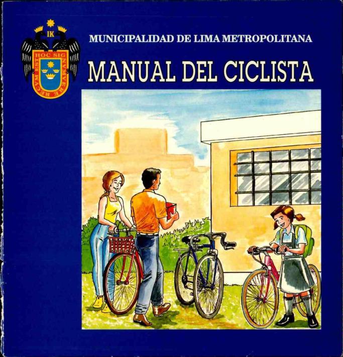 외국 자전거 팜플렛 #6