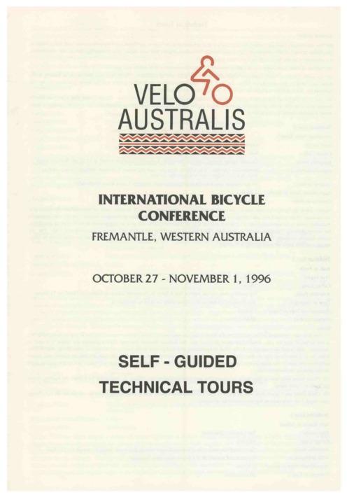 외국 자전거 팜플렛 #13