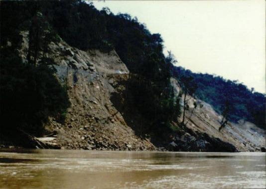 자연생태 기타 18 - 동아건설에 의해 수로 공사가 진행되고 있는 모습