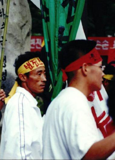 1999.1.4 신태백 변전소 건설저지 궐기대회 16